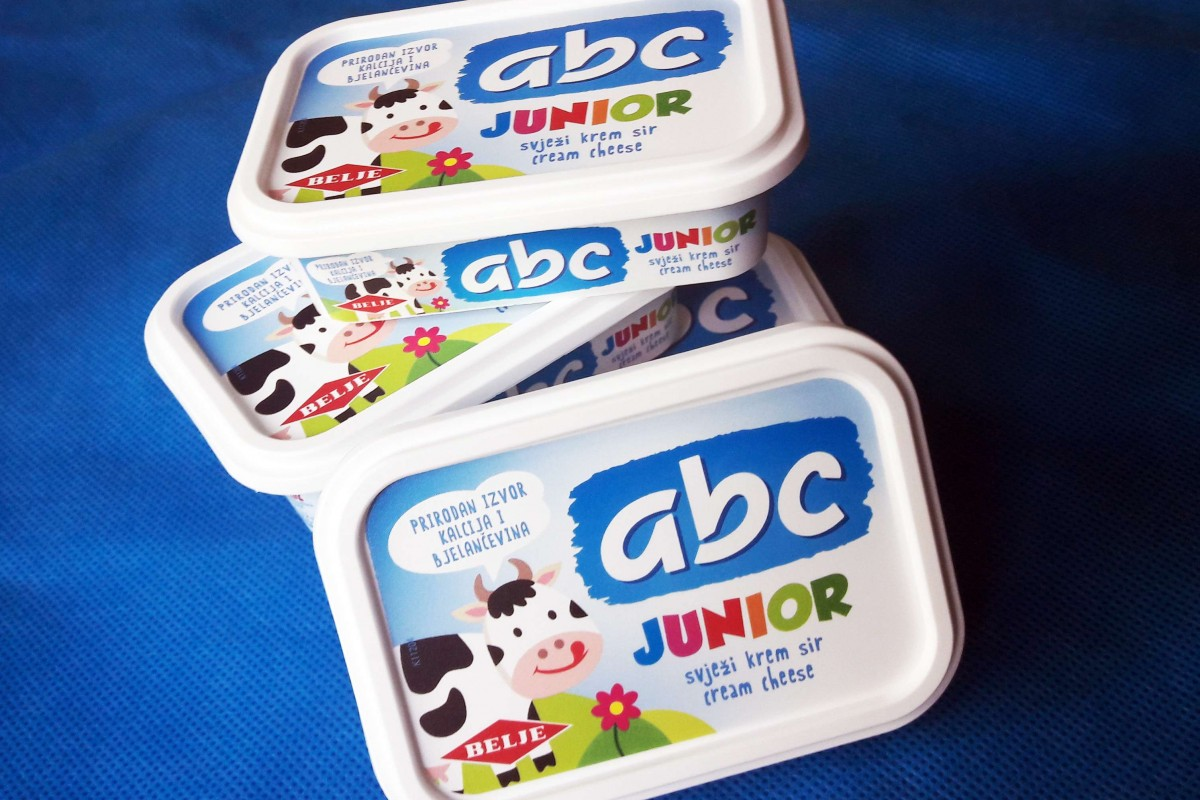 Abc Fresh Cream Cheese Junior For Kids To Grow Big And Strong Belje