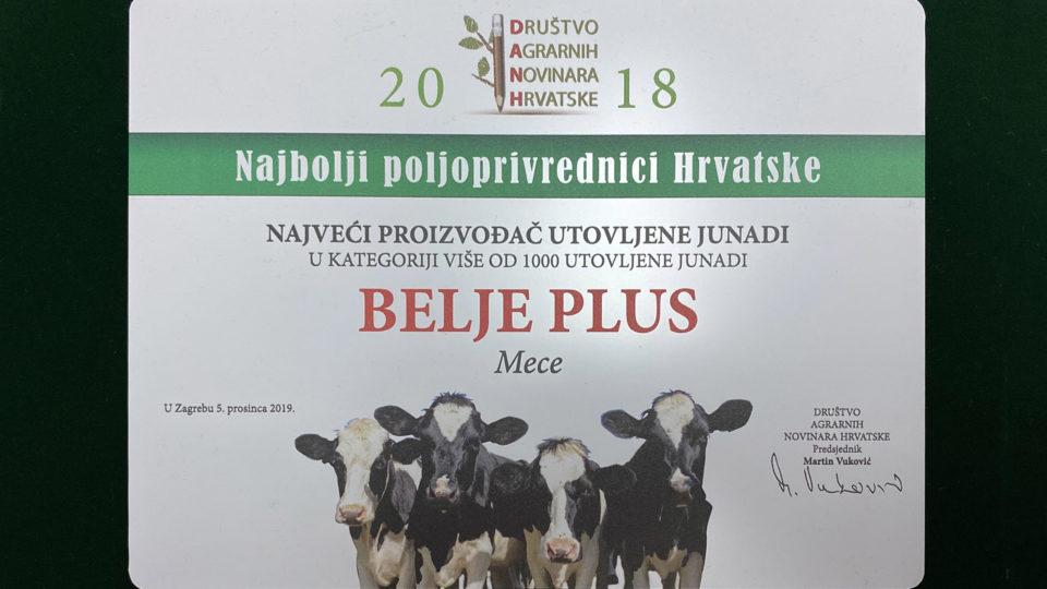 Belje plus - najveći proizvođač junadi u Hrvatskoj